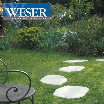 Rendez vous au jardin l 39 harmonie de la pierre et de la nature avec wese - Pas japonais point p ...